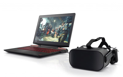 VR ready laptop hire