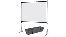 Large Fastfold Projector Screen Hire