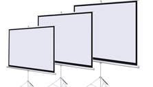 Tripod Projector Screen Hire
